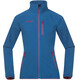 Bergans Youth Girl Kjerag Jacket LT Sea Blue/Hot Pink/Br Sea Blue